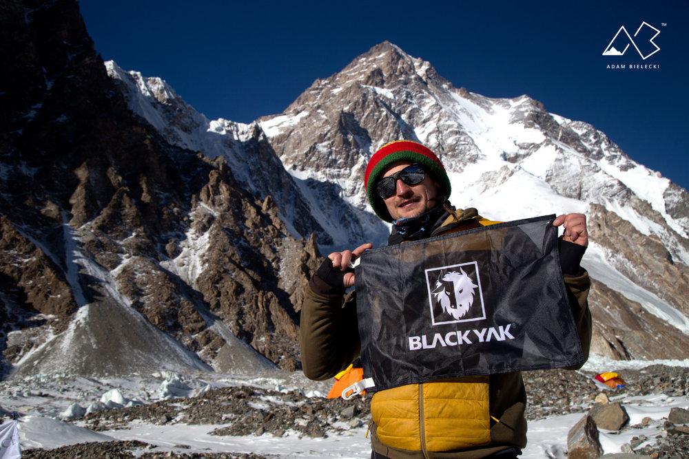 Adam Bielecki am K2 - © Adam Bielecki | BLACKYAK