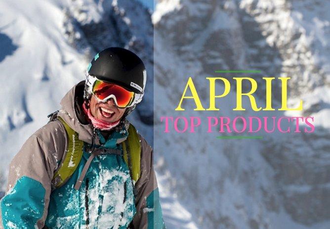 April's Top Products - © Liam Doran