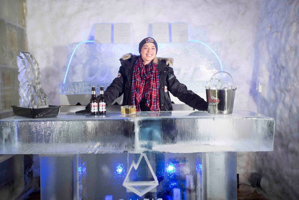 Baltic Ice Bar at Snow Factor - © Jeff Holmes Photography