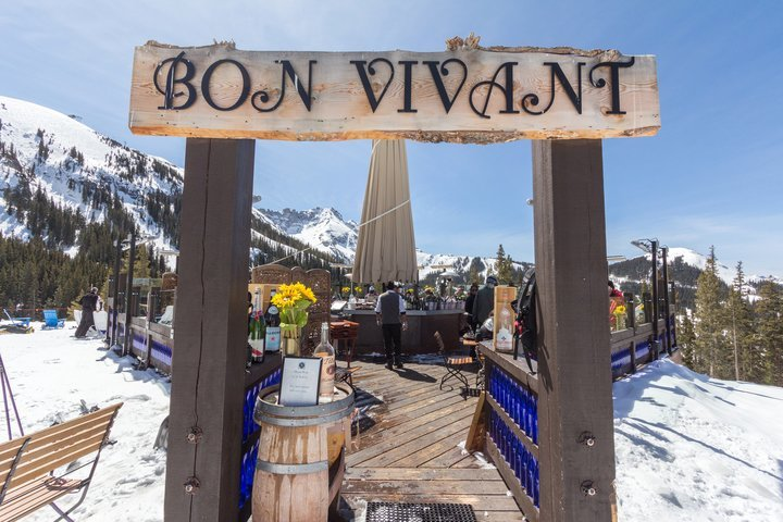Bon Vivant is one of Telluride's many on mountain-dining options. - © Visit Telluride/Ryan Bonneau