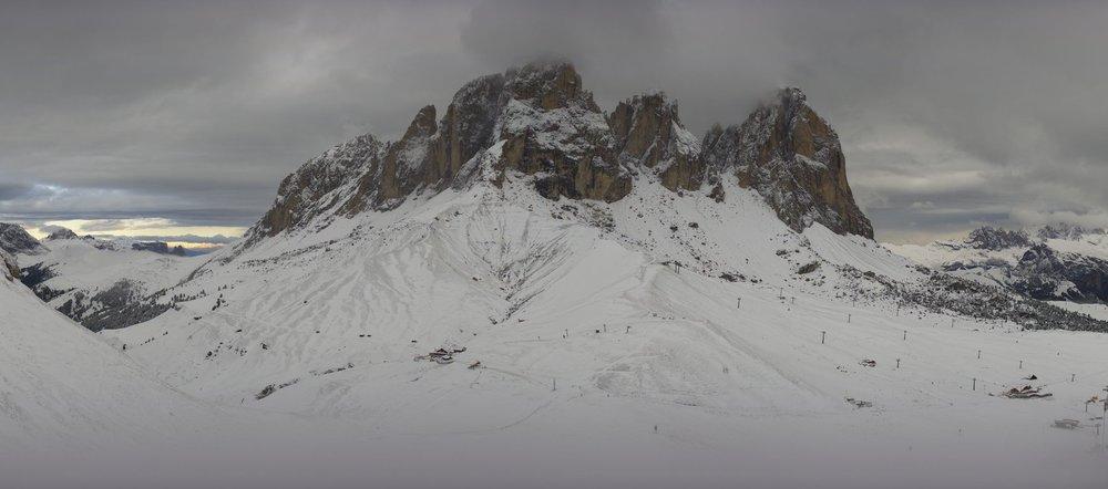 Col Rodella, Val di Fassa - Neve ad Agosto! 26.08.18 - © Facebook Val di Fassa
