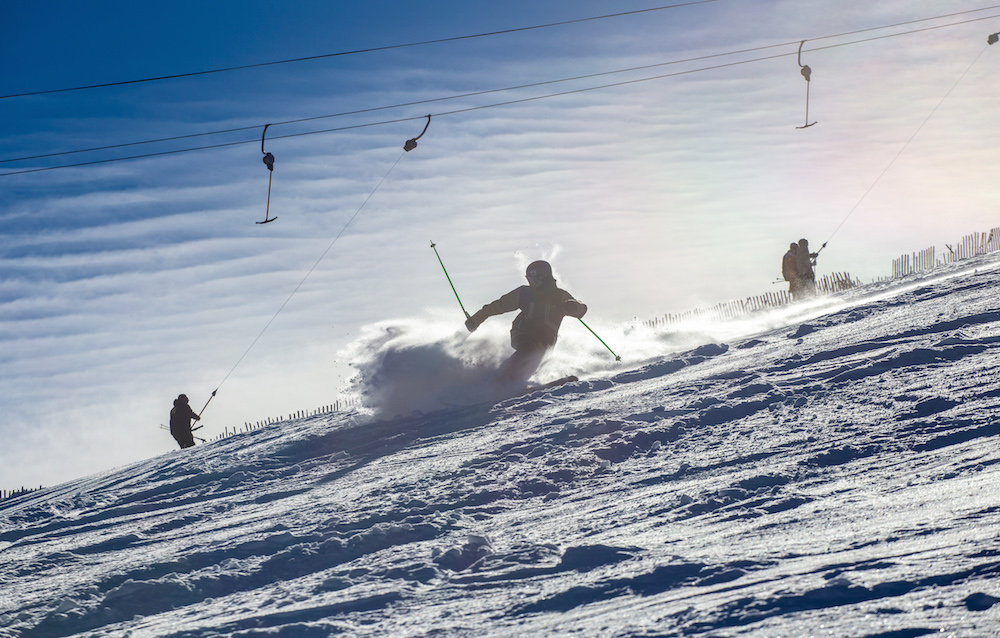 Copper Mountain opening day brought the fresh. - © Curtis DeVore, Copper Mountain