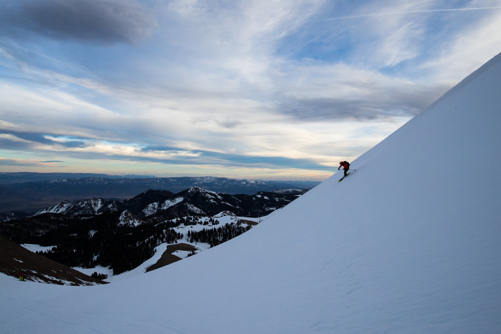 The Tushar Mountains-area near Beaver in Central Utah is quiet and serene country and fans of Eagle Point say it feels like having your own private ski resort. - © Adam Clark