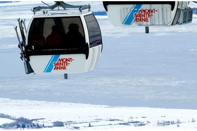 Mont Sainte Anne Gondola