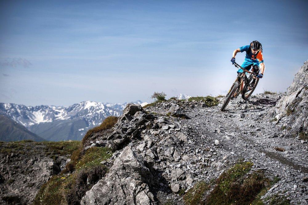 Mountainbike in Davos Klosters - © Stefan Schlumpf