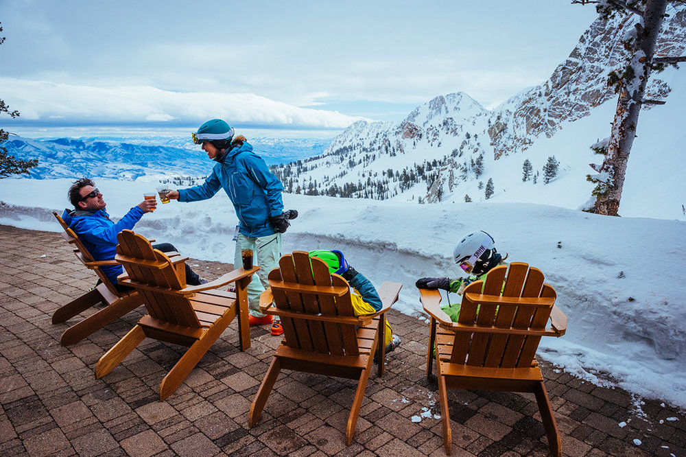 Just 45 minutes from SLC International, the Ogden area's Snowbasin Resort is 3,000 vertical feet and 3,000 skiable acres, including Olympic-caliber downhill and lavish day lodges. - © Jeremiah Watt