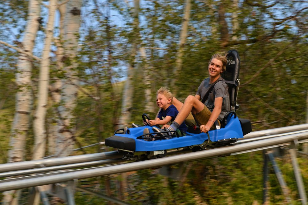 The Outlaw Mountain Coaster in Steamboat Springs, Colorado is the longest alpine coaster in North America - © Larry Pierce/Steamboat Ski Resort