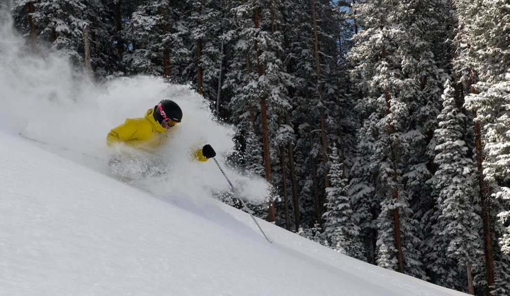 Telluride Lift 5 offers a fun playground of powder. - © Telluride Ski Resort