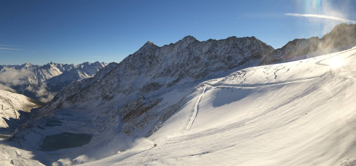 Sölden, 2.10.2018 - © Webcam Skiline Panorama