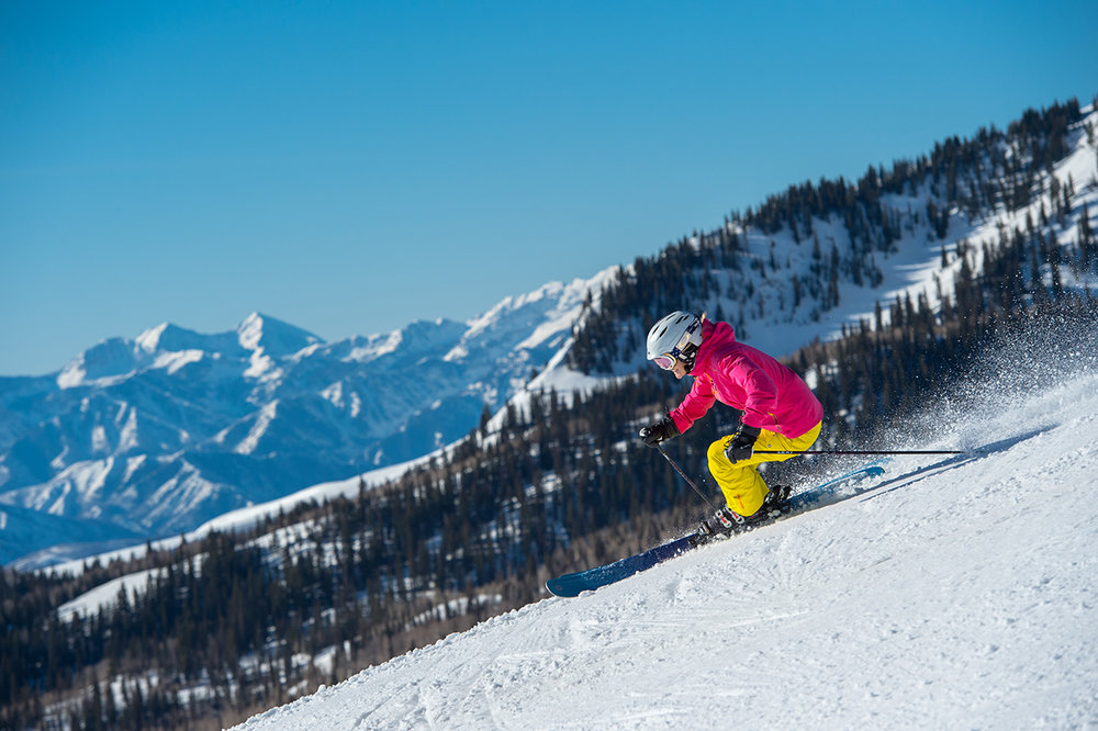 Consider a multi-day/season ski resort pass or getting lift tickets ahead of time to save on skiing. - © Scott Markewitz
