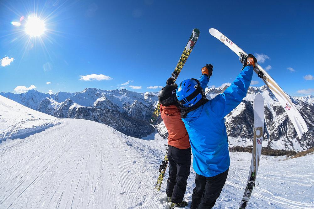 Encore quelques jours pour profiter des excellentes conditions de ski offertes par les stations de ski du Queyras... - © Manu Molle