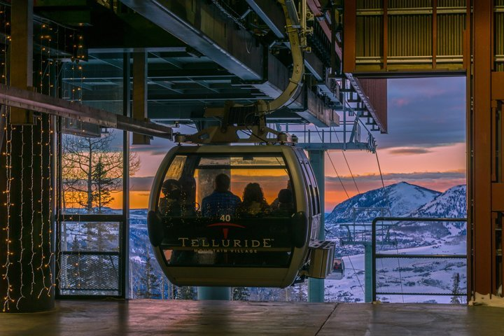 Telluride's Gondola is the only free transportation system of its kind in North America. - © Visit Telluride/Ryan Bonneau
