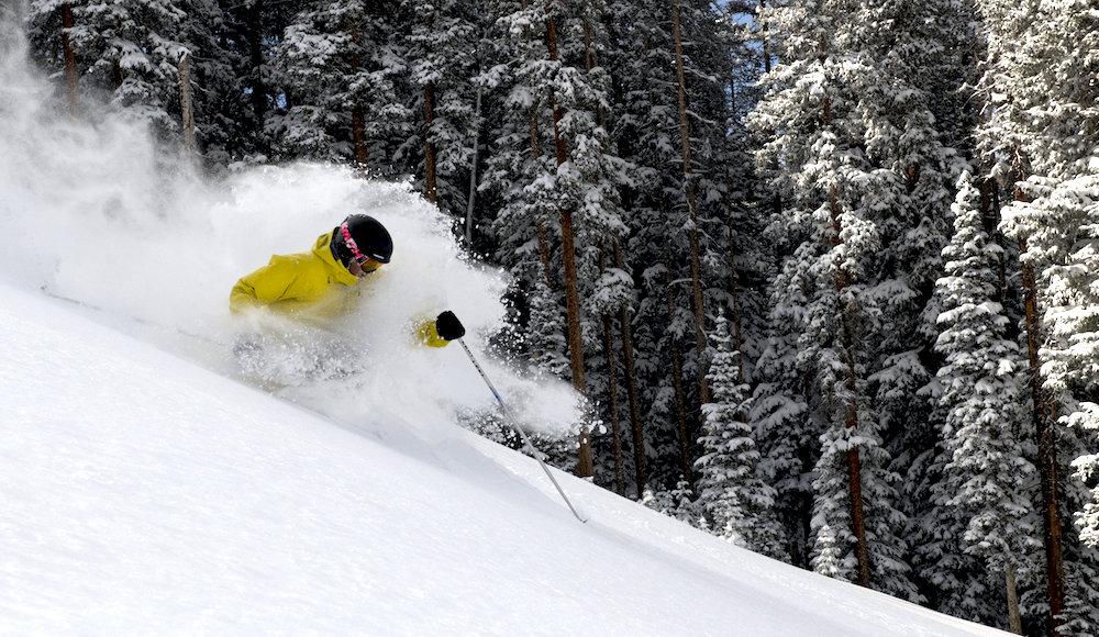 "A fresh 15"" of new snow left a lasting impression on Telluride this week. - © Telluride Ski Resort"