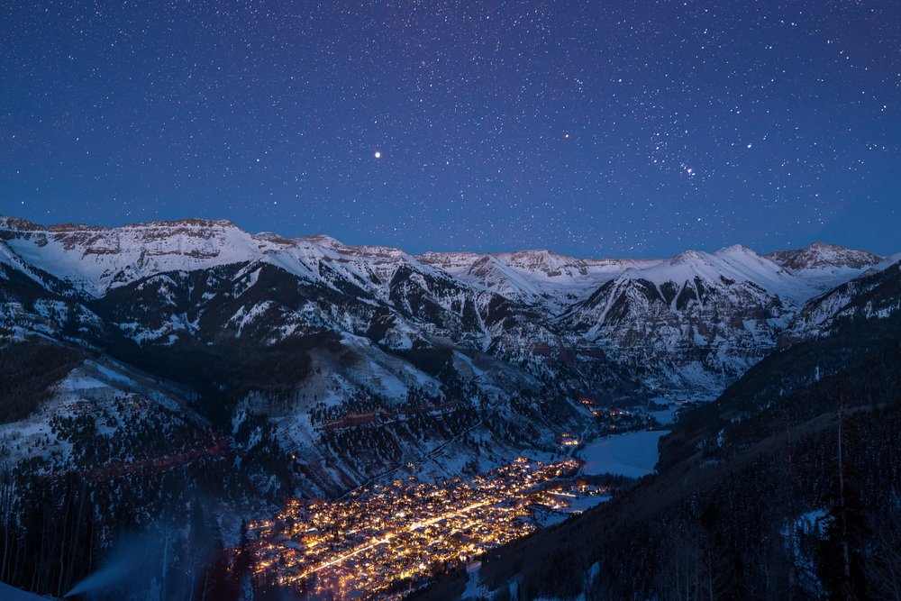 Surrounded by the largest concentration of 13,000 and 14,000-foot peaks in North America, Telluride is stunningly beautiful. - © Visit Telluride/Ryan Bonneau