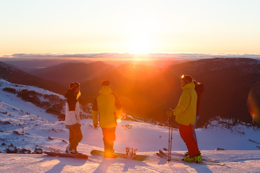 Sunrise over Thredbo.  - © Ryan Dobbins, Alterra Mountain Co.