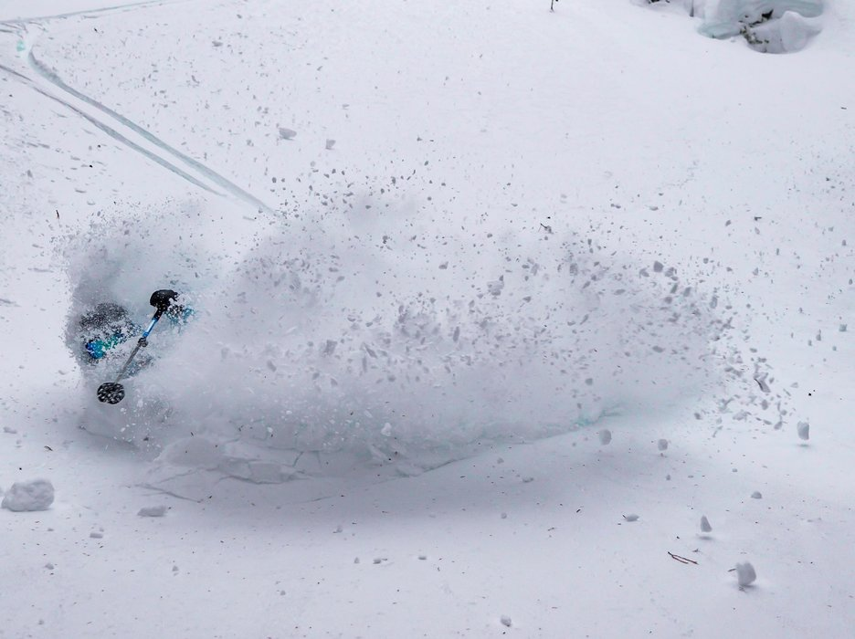 Whistler Blackcomb powder is swallowing skiers and riders whole this December. - © Whistler Blackcomb