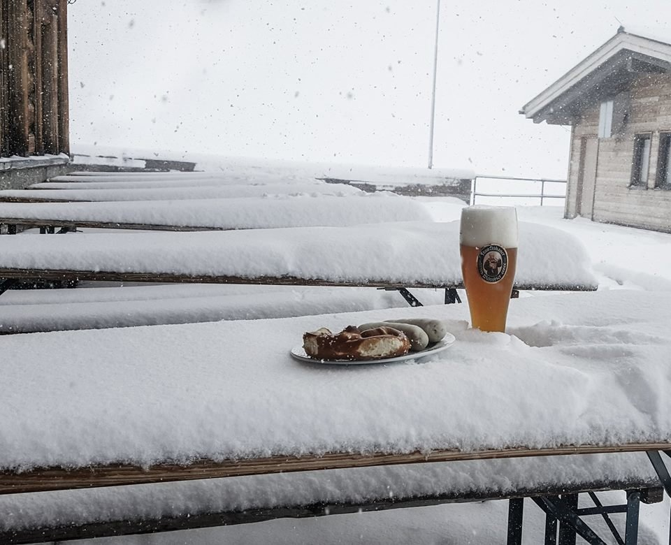Impressionen von der winterlichen Zugspitze - © Facebook Zugspitze