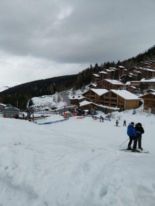 La Plagne - Super neige !! Temps mitig - © Christelle et Marius