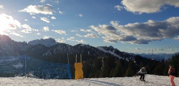 Tarvisio - collegamenti bassi chiuse piste in buone condizioni con ghiaccio in alcuni punti al pomeriggio - © Anonimo