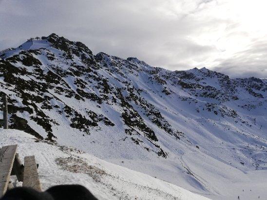 Les 7 Laux - peu de neige, dur voire m - © anonyme