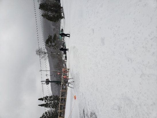 Belleayre - excellent condition  but gondola and tomahawk was not running. 10 inches of powder on top . super chief and lift 7 was open.  - © anonymous