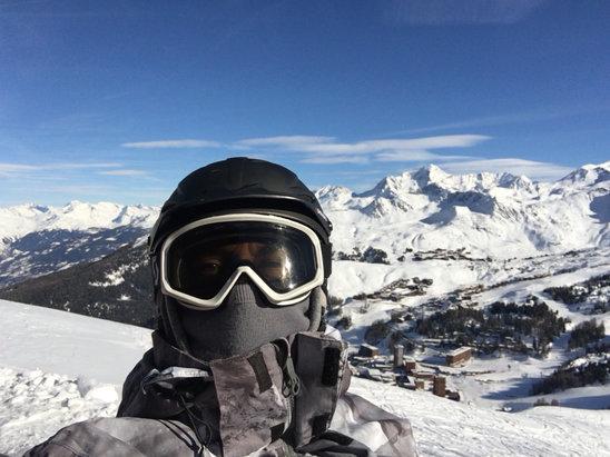 Les Arcs - Au top , superbe neige, tr - © iPhone de Fred
