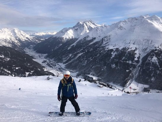 St. Anton am Arlberg - fantastic conditions in st Anton  - © Simon