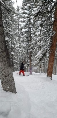 Eagle Point - On 1/21_19, we shredded on +2' of fresh powder! Ridiculously AWESOME! - © anonymous