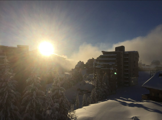Avoriaz - [! skireport_firsthandpost_pagetitle ] - © iPhone