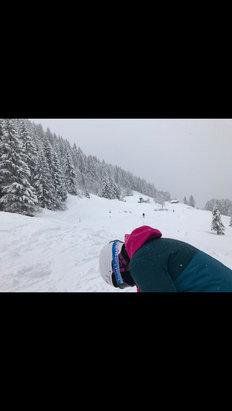 Les Houches - super week-end la semaine dernière! ❤️❤️ à bientôt les houches ⛷❄️ - © iPhone Chiara