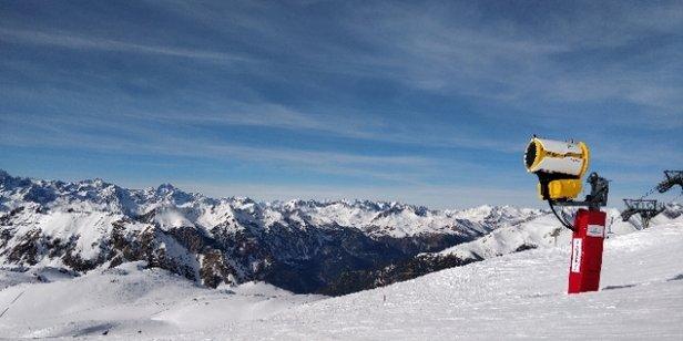 Monginevro - ottime condizioni per godersi una sana giornata di sci - © Giuseppe Pandolfino
