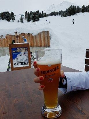 Obergurgl-Hochgurgl - Ein weiss bier :) - © Faruk