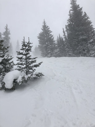 "Park City - Yesterday was awesome...about 8"" of new snow! A bit windy on Jupiter but heck....the snow was primo - © iPhone"