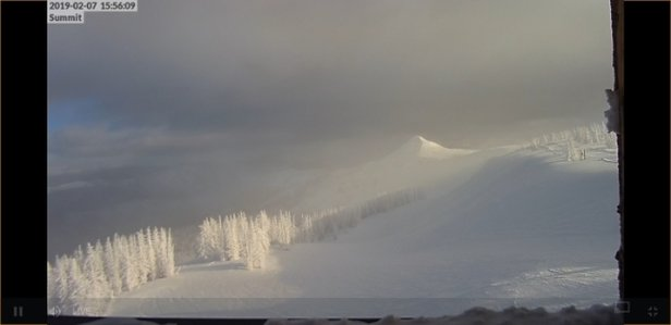 Wolf Creek Ski Area - Webcam image after 35 inches fresh snow - © anonymous