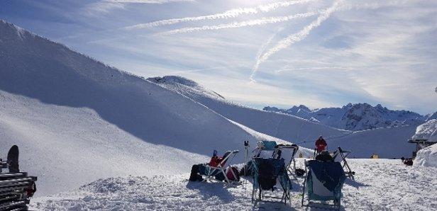 Oberstdorf - Nebelhorn - Bestes Wetter und super Pistenverh - © Anonym