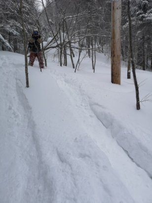 Tremblant - Powder everywhere. Enjoy!  - © anonymous