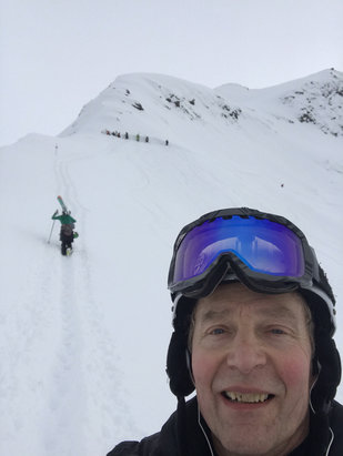 Alyeska Resort - To the top we go! - © Marq's phone