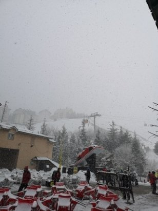 Sierra Nevada - New snow, to freshen the slopes up  - © anonymous