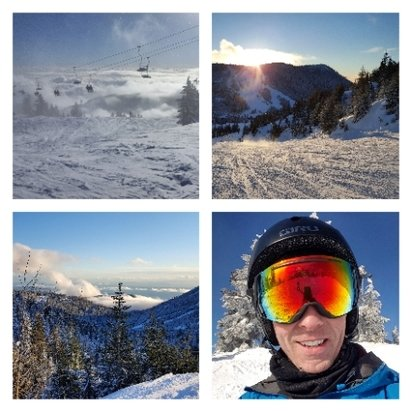 Cypress Mountain -  great day, sunshine and powder! - © anonymous