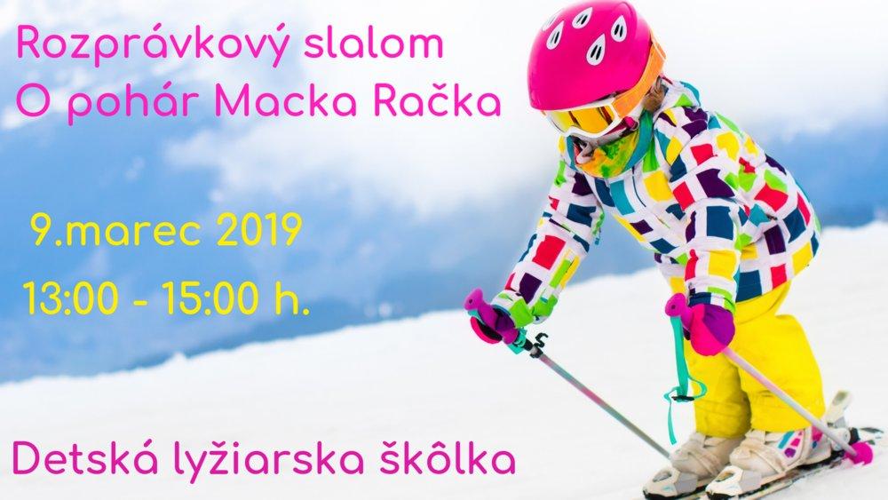 Detský rozprávkový slalom O pohár Macka Račka - © Alžbeta Jakubcová