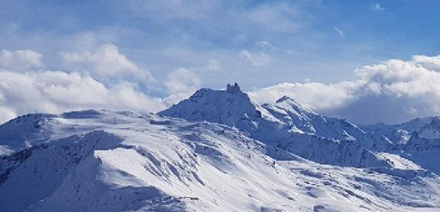 Val Cenis - Bonne neige. Temps de printemps.  - © anonyme