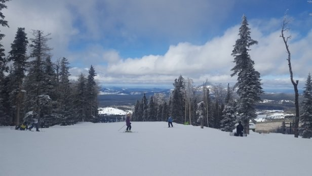 Arizona Snowbowl - last week - © anonymous