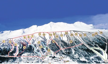 Kittelfjall_ski_map