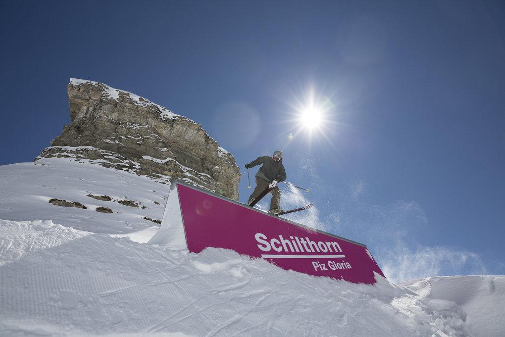 Snowpark Schilthorn - © SCHILTHORNBAHN AG