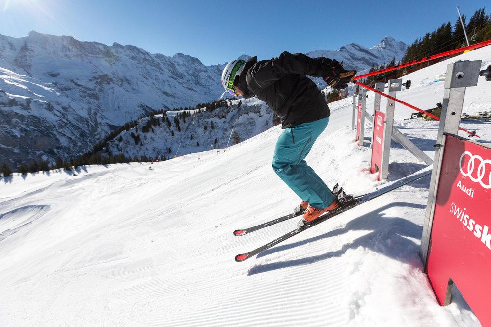Die permanente Skicross-Strecke findet ihr am Maulerhubel