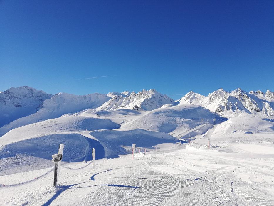 Impressionen aus dem Skigebiet Pizol - © Pizolbahnen AG