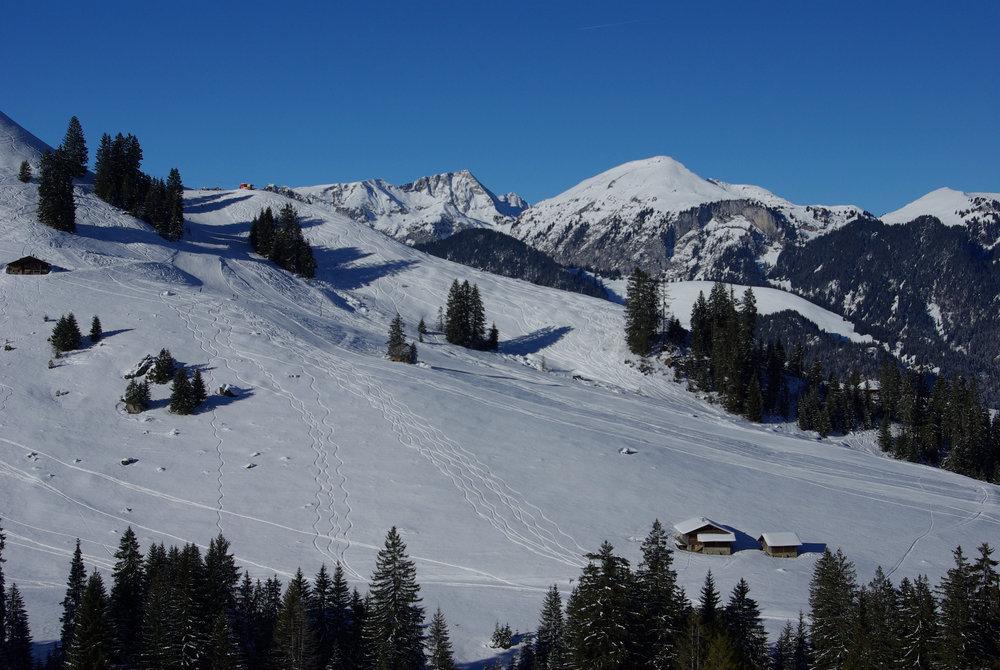 Skigebiet Rossberg - Oberwil - © Skilift Rossberg AG