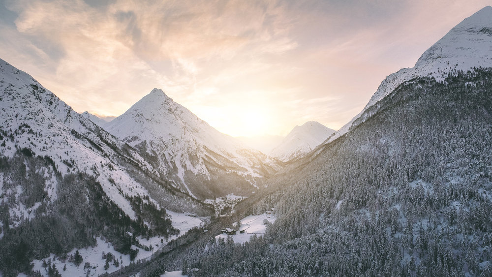 Einblick in das Saastal - © PPR - Saastal Tourismus AG