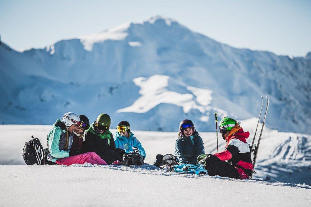 Pause vom Skitag in der Axamer Lizum - © Axamer Lizum