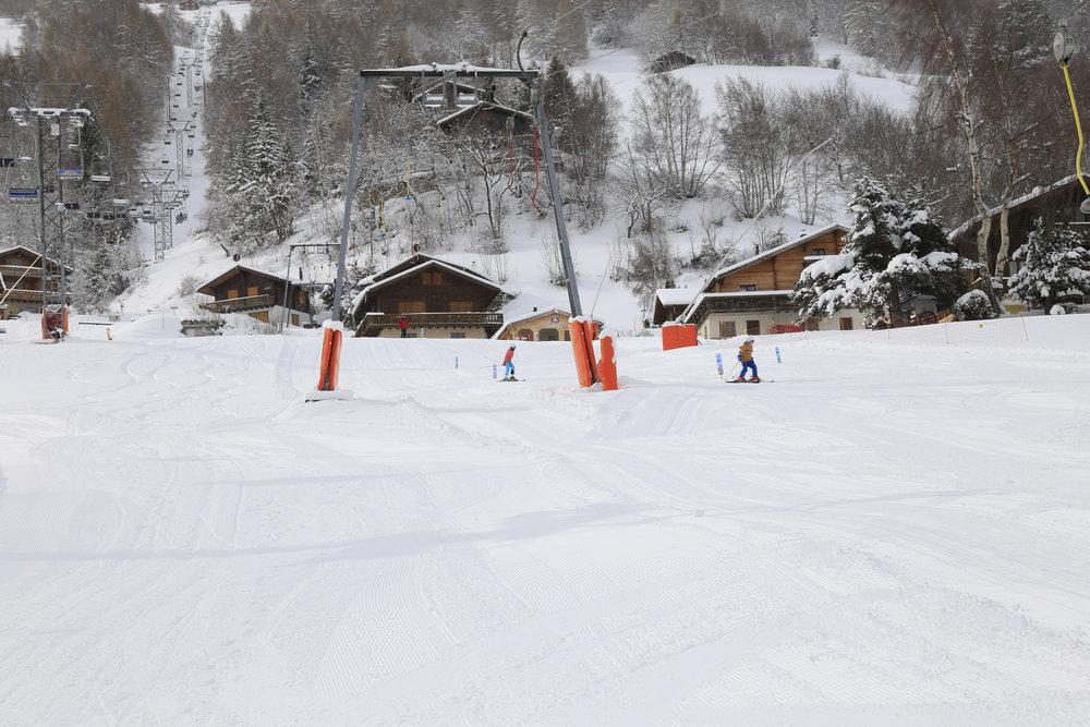 Skilift in Unterbäch - © Unterbäch Tourismus